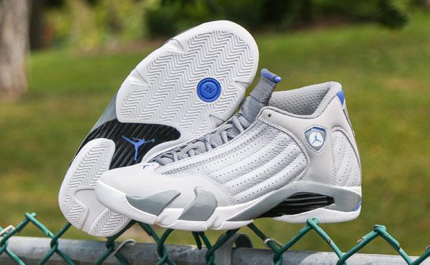 """big sale 1049d 51c32 3 Shades of Grey and a Pop of Blue: Jordan XIV """"Sport Blue ..."""